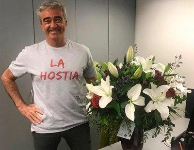 """El emotivo regreso de Carles Francino a 'La Ventana' tras superar el Covid: """"Las pasé canutas"""""""