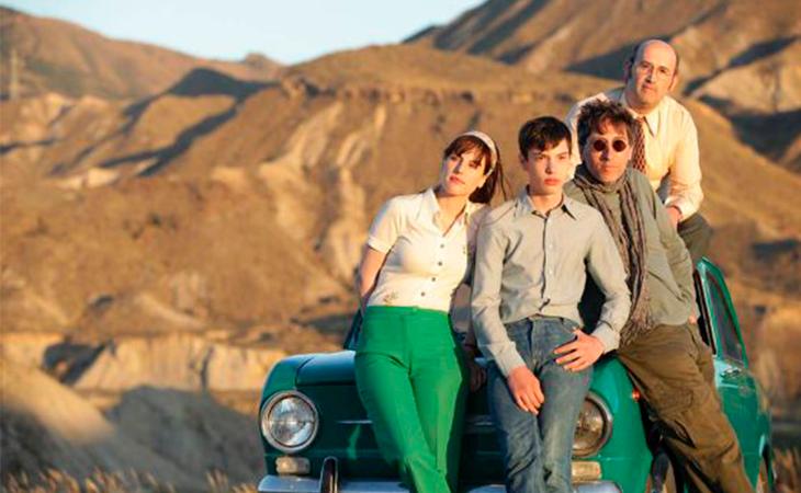 Esta película muestra el paisaje de Almería