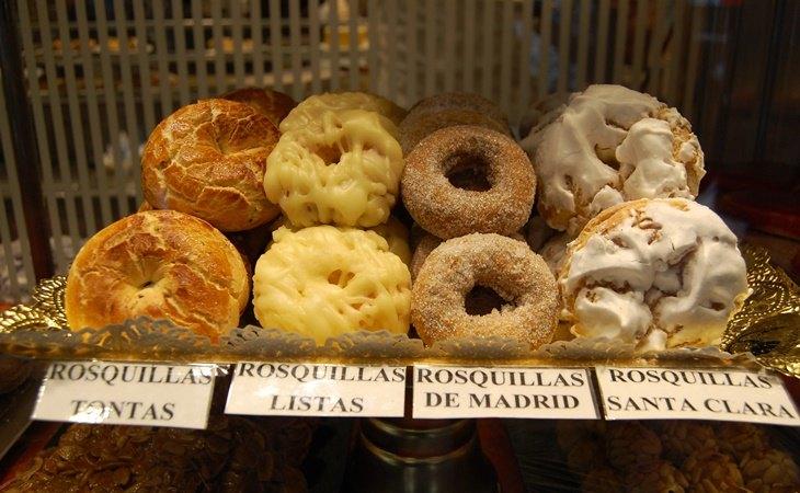 Rosquillas típicas de San Isidro