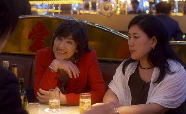 Christiane Amanpour con algunas de sus entrevistadas