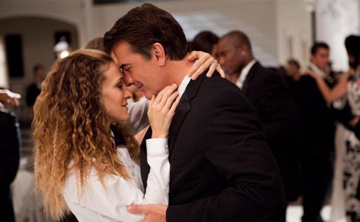 Carrie y Mr. Big en 'Sexo en Nueva York'