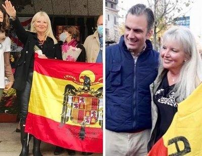Detenida la ultra Carlota Sales durante la desarticulación de una trama que vendía carnés de conducir a inmigrantes liderada por su hijo