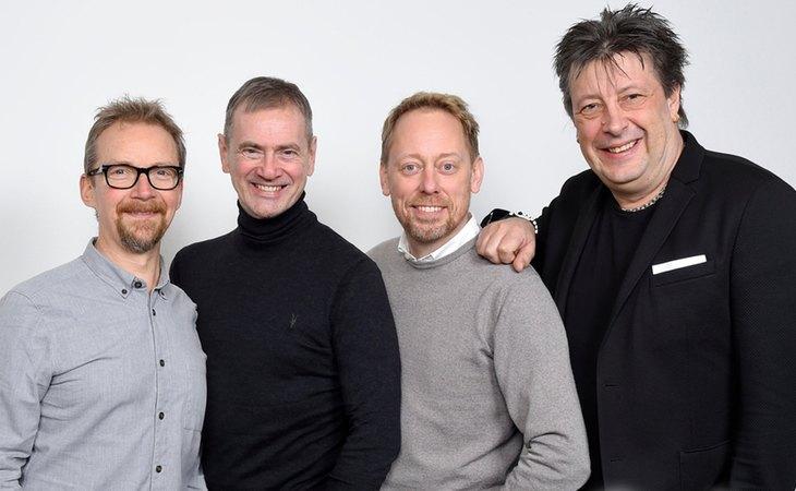 Anders Lenhoff, Christer Björkman, Peter Settman y Ola Melzig, encargados de llevar Eurovisión a América