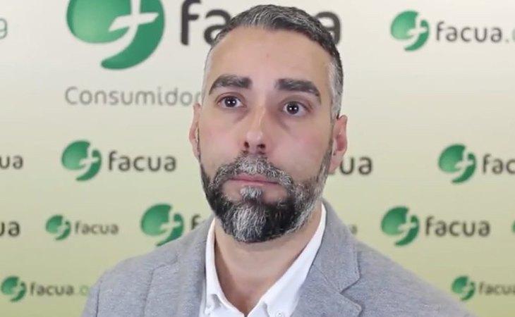 Rubén Sánchez, secretario general de Facua