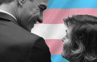 El PSOE se desenmascara con su vergonzoso bloqueo a la Ley Trans: suelten la bandera LGTBI