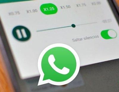 WhatsApp ya permite escuchar los audios más rápido:  Así puedes hacerlo