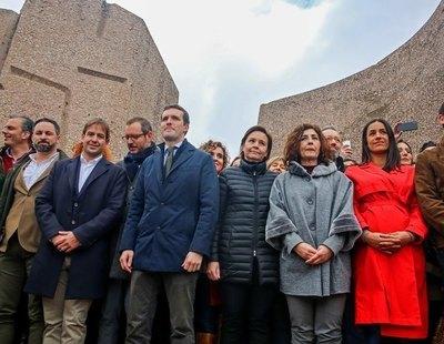 PP, VOX y Ciudadanos volverán a hacerse la 'foto de Colón' por los indultos convocados por Rosa Díez