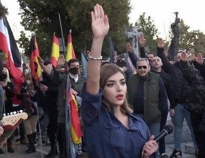 La jueza que avaló el cartel de VOX en contra de los menas archiva las proclamas antisemitas en un acto neonazi