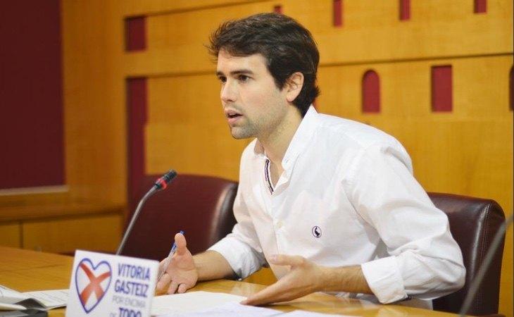 El exconcejal del PP en Vitoria, Iñaki García Calvo