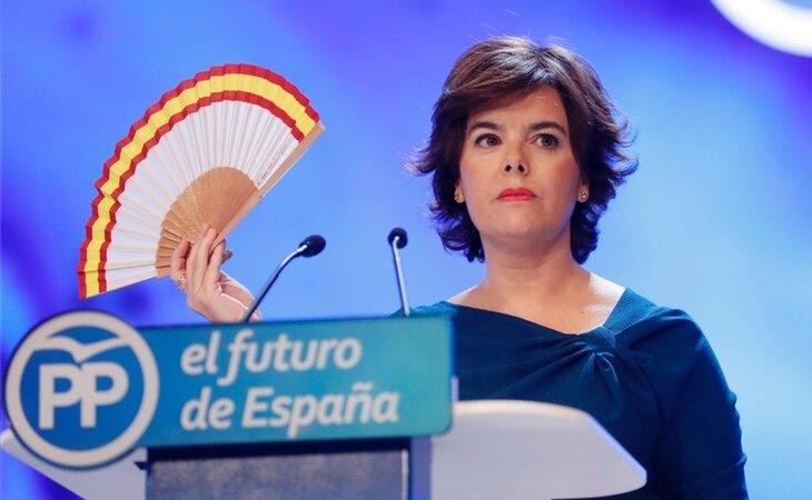 Soraya Sáenz de Santamaría aparece en el sumario secreto de la causa