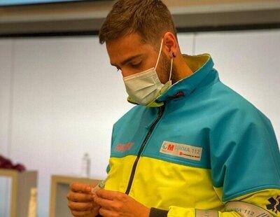 El monólogo viral de Jorge, enfermero en el Wanda: humor e información para las vacunas