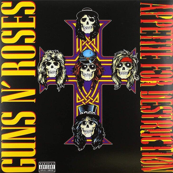 'Appetite for destruction', de Guns N' Roses