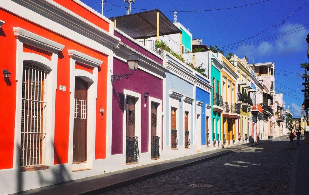 Viejo San Juan destaca por el colorido de sus calles