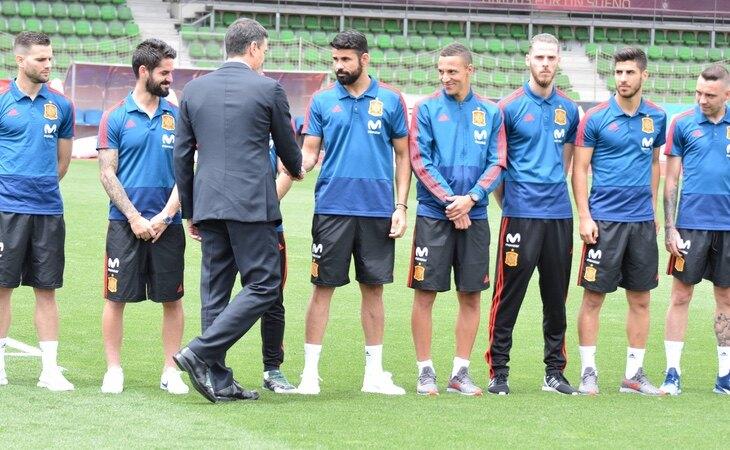 La Selección podría vacunarse antes de la Eurocopa