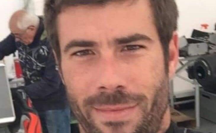 Tomás Gimeno, en una fotografía difundida en redes sociales