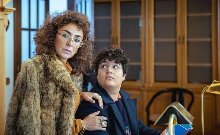 Candela Peña y Gabriel Sánchez en 'Maricón perdido'
