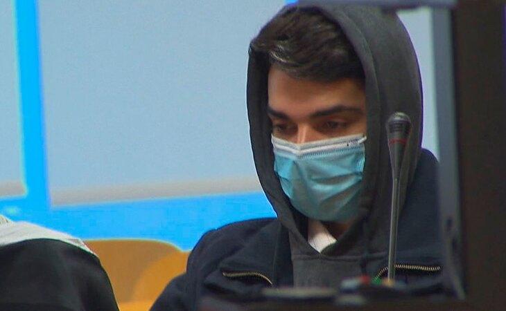 El 'caníbal de Ventas' durante el juicio