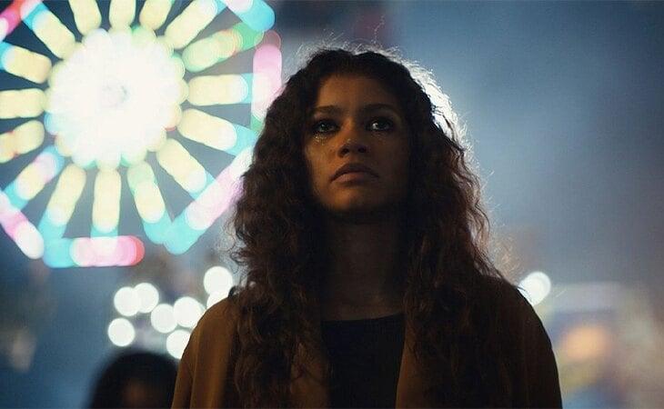 Zendaya es Rue en 'Euphoria'
