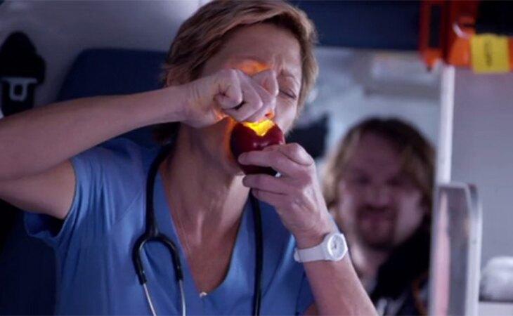 Edie Falco es Jackie en 'Nurse Jackie'