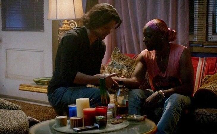 James y Lafayette en 'True Blood'