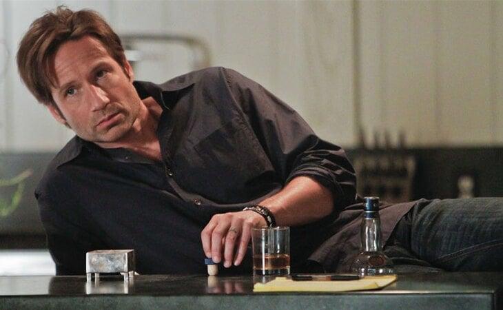 David Duchovny como Hank Moody en 'Californication'