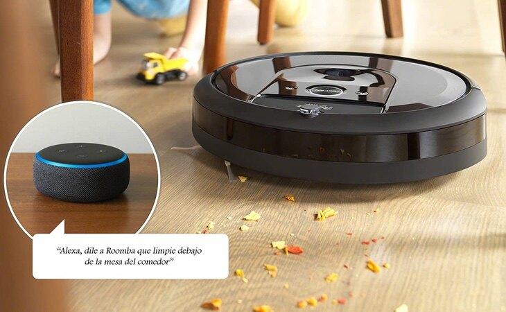 Robot aspirador iRobot Roomba i7+