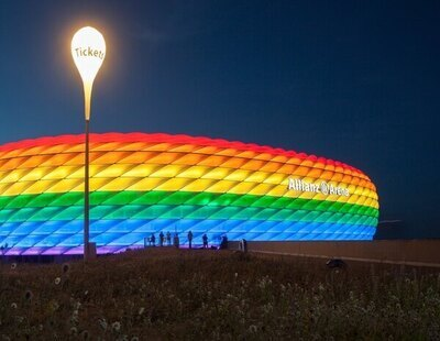 """La UEFA no iluminará el Allianz Arena con la bandera LGTBI en el Alemania-Hungría y se declara """"neutral"""""""