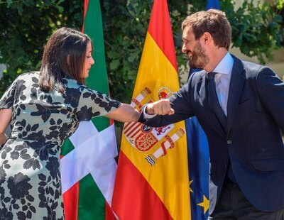 Inés Arrimadas anuncia que Ciudadanos apoyaría una moción de censura del PP contra Sánchez