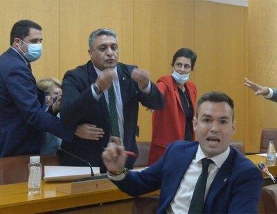 """Una jueza propone juzgar por delito de odio al diputado de Ceuta que llamó """"cobardes fascistas"""" a los líderes de VOX"""