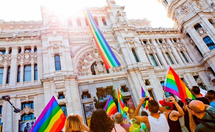 Cuando el Ayuntamiento de Madrid sí apoyaba al colectivo LGTBI