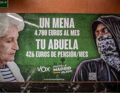 """La Justicia avala el cartel de VOX contra los niños no acompañados: """"Son un evidente problema social y político"""""""