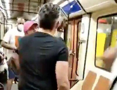 Brutal agresión en el Metro de Madrid a un hombre por pedirle a otro que se pusiera la mascarilla