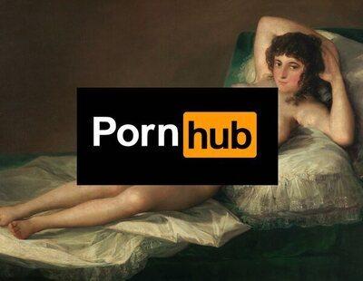 PornHub lanza una campaña invitando a ir al Museo del Prado y este plantea acciones legales