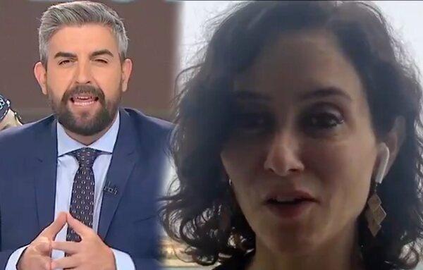 Críticas a Telemadrid y Ayuso por el 'Aló Presidenta' en pleno 'Telenoticias' tras depurar a toda la dirección