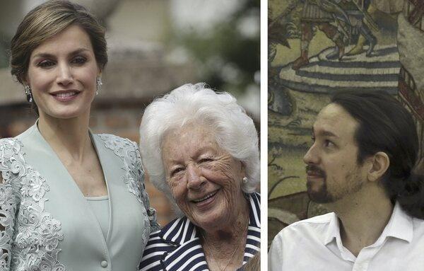 """La abuela de la reina Letizia: """"Le espeté a Felipe: ¿Por qué recibiste al gilipollas del 'Coletas' si iba en mangas de camisa?"""""""