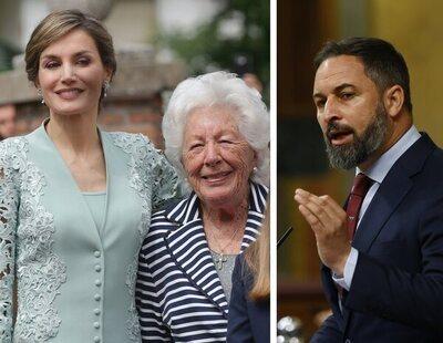 """La abuela de la reina Letizia: """"Abascal me gusta y si algo nos va a salvar es VOX"""""""
