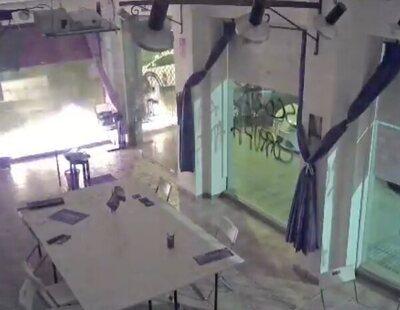 El ataque a una sede de Podemos con un cóctel molotov termina con una multa... a Podemos