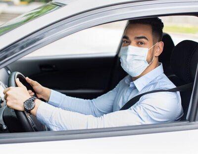 La multa que te pone la DGT si dejas la mascarilla en esta zona del coche