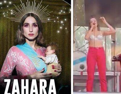 """""""No hay bestias suficientes para silenciar a Zahara"""": El brutal vídeo viral que circula tras la polémica del cartel"""