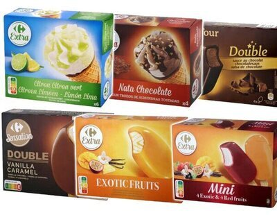 Carrefour retira varios lotes de 29 helados contaminados con este componente cancerígeno