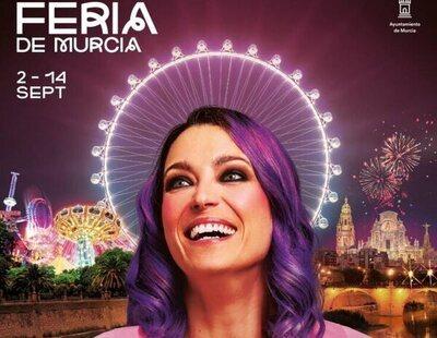 """VOX exige retirar el cartel de Raquel Sastre en la Feria de Murcia porque """"ofende a los cristianos"""""""