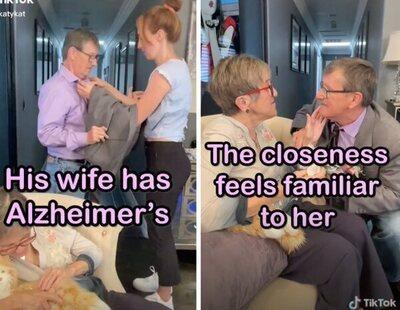 El emotivo vídeo en el que un hombre pide cada semana matrimonio a su esposa con Alzheimer