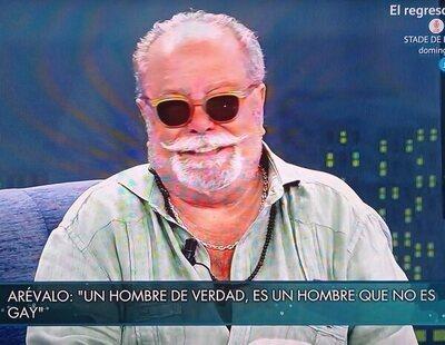 """La homofobia de Arévalo: """"Un hombre de verdad es un hombre que no es gay"""""""
