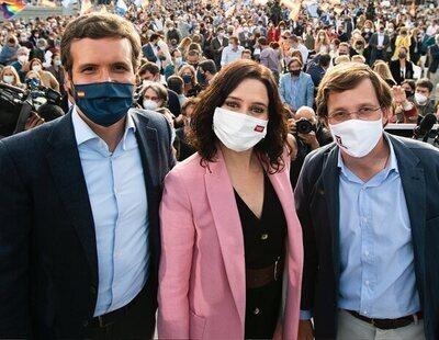 Casado no apoya abiertamente a Ayuso para presidir el PP de Madrid y mete a Almeida en la pugna contra ella