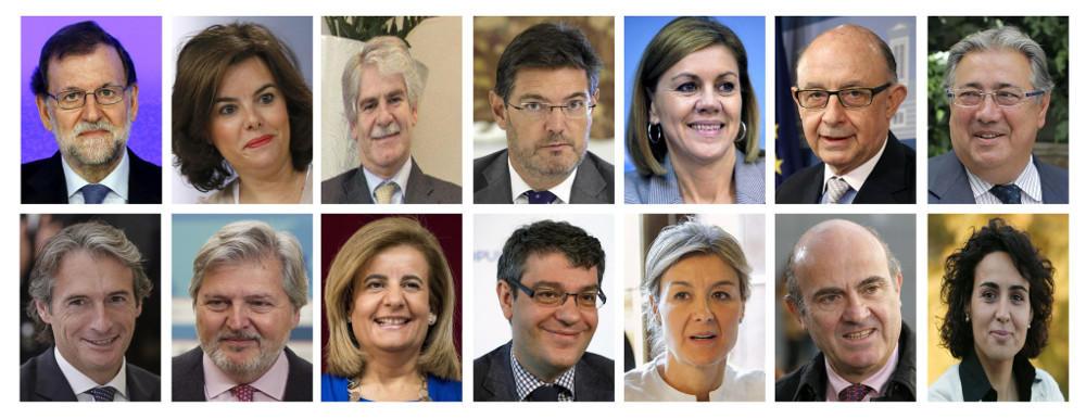 El nuevo Rajoy Team