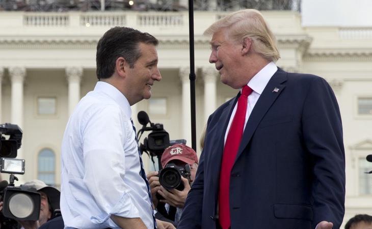 Ted Cruz no supo hacer frente a Trump