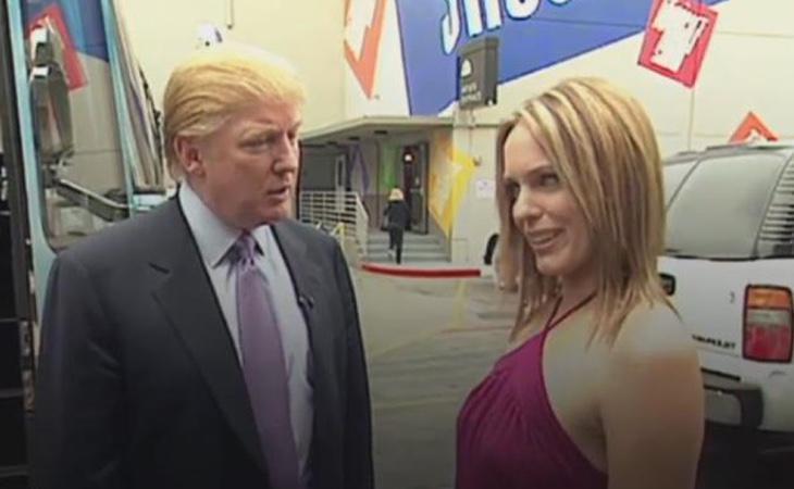En el vídeo Trump también hace comentarios lascivos sobre esta mujer