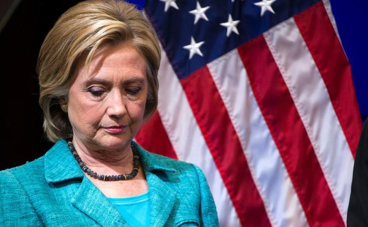 El escándalo de los emails ha sido el que más ha dañado la campaña de Clinton