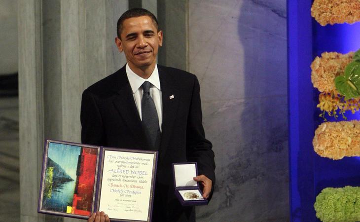 Barack Obama, Nobel de la Paz