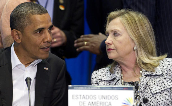 Barack Obama respalda la cadidatura de Hillary Clinton